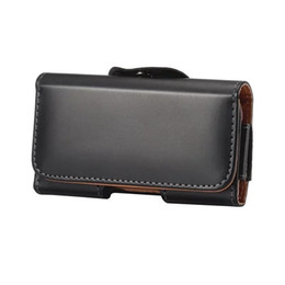 """$enCountryForm.capitalKeyWord UK - Universal Many Models Belt Clip Holster Leather Mobile Phone Case Pouch cover For THL T6C 6.3"""" inch For"""