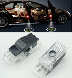 $enCountryForm.capitalKeyWord Australia - 2pcs LED Car Door Welcome Light Laser Logo Projector sticker For Mercedes Benz w203 w208 w209 w171 w172 w240 w199 Car styling
