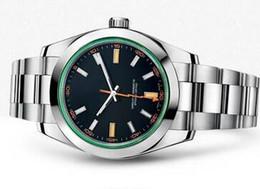 Venta al por mayor de Alta calidad Top Brand New Mens Full acero inoxidable reloj fecha hombres reloj de pulsera de lujo automático mecánico masculino plateado relojes venta
