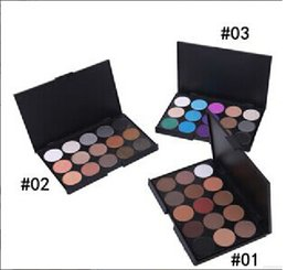Low Price Glitter Eyeshadow Canada - lowest price new makeup 15color eyeshadow palette 3 color