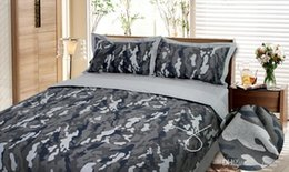 $enCountryForm.capitalKeyWord Canada - Camouflage Army Camo bedding sets king queen full size pure cotton adult Childrens Bedding Sets 4 pcs free shipping