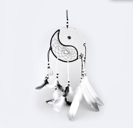 Chinese  Hand Woven Dream Catcher Chinese Traditional Tai Chi Style Wind Chimes Dreamcatcher Car Decoration Pendant home decor manufacturers