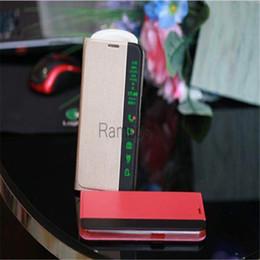 $enCountryForm.capitalKeyWord Canada - For Samsung Galaxy J5 Side Display Smart Leather Case Phone Cover Auto Sleep Wake Stand Capas for Samsung S6   S6 Edge Plus