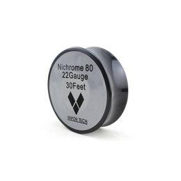 nichrome wire 24 gauge 2019 - Nichrome 80 Heating Wire Resistance Wires Vapor Tech 30 Feet 22 24 26 28 30 32 Gauge for DIY RDA Vaporizer Atomizer Coil