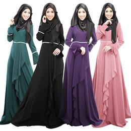 095ccca08 Abaya muçulmano vestido turco mulheres roupas islâmicas abayas jilbab  musulmane vestidos longos roupas dubai kaftan longo giyim rosa