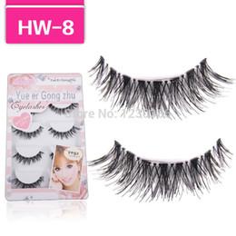 $enCountryForm.capitalKeyWord Canada - Handmade 5 Pair Thick Long Crisscross False Eyelashes Fake Eye Lashes Eyelash HW8
