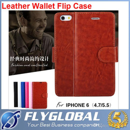 $enCountryForm.capitalKeyWord Canada - For Galaxy S5 S6 Edge Plus iPhone 6 Plus Note 5 4 Retro Wallet Leather Phone Cover Case Card Slots Flip Stand Samsung iphone factory price