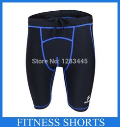 Sous-vêtement De Football En Gros Pas Cher-Vente en gros 2015 hommes de Compression collants Base Layer Fitness Sous-vêtements Shorts de sport Cyclisme Course Box Football Football Basket
