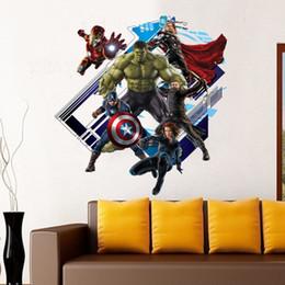 3d Avengers Mural Wallpaper NZ | Buy New 3d Avengers Mural Wallpaper ...