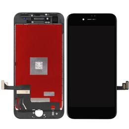 Grau a +++ testado display lcd touch screen digitador com moldura de imprensa fria para iphone 8 8 + 8 p 8 além de