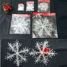 $enCountryForm.capitalKeyWord Canada - Christmas plastic Snowflake christmas trees decorations Xmas day christmas gifts 5 sizes Party Supplies[SKU:C106]