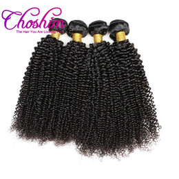 human hair pieces for black women 2019 - Choshim Slove Hair Brazilian Kinky Curly Human Hair Weave Bundles 100% Remy Hair Extensions For Black Women No Shedding