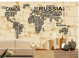 Discount world map wallpaper mural 2018 world map wallpaper mural customize wallpaper papel de parede 3d three dimensional mural backdrop creative world map 3d wallpaper free shipping4747 world map wallpaper mural on sale gumiabroncs Gallery