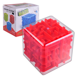 $enCountryForm.capitalKeyWord Canada - Cool Novelty Cube Children Education Toys Transparent 3D Three-dimensional Maze Marbles Adult Intellectual Decompression Magic Cube Toys
