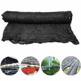 Wholesale  118x118inch Sunshade Net Car Garden Sun Cover Shelter  Permeability 40% UV Resistant Fabric Shade Cloth Flexible + Button