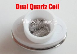 China wax ceramic dual quartz coils for micro g dry herbal vaporizers pen Wax elip atomizer e cigarette g pro vaporizer pen Coils cheap micro g pens for wax suppliers