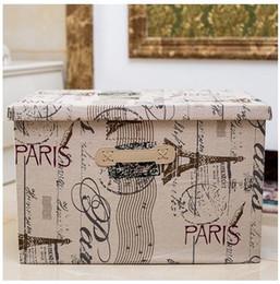 $enCountryForm.capitalKeyWord Australia - Housekeeping Home Storage Box Folding Boxes Storage clothing with Lid large capacity Storage Bins bin free shipping