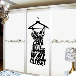 $enCountryForm.capitalKeyWord Canada - Fashion Black Women Dress Wall Decal Sticker---Love my Money Wall Quote Decor Poster Art for Wardrobe Decoration Adesivo De Parede