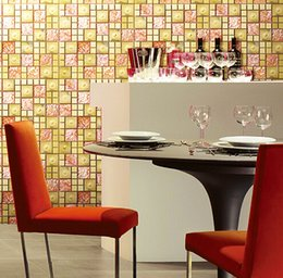 Mosaic Bathroom Designs Canada - Glass mosaic tiles backsplash bathroom wall and floor tiles crystal design gorgeous visual texture art home design royalty design home decor