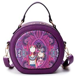 Patchwork Plaid Handbags Australia - new Forest Circular Bags Crossbody Bags For Women Bag Sac A Main Femme 2018 Designer Handbag Lady Hand Bag Fashion Bolsas