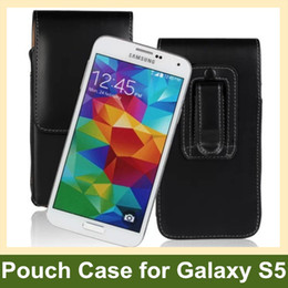 $enCountryForm.capitalKeyWord NZ - Wholesale New Arrive Belt Clip PU Leather Vertical Flip Cover Pouch Case for Samsung Galaxy S5 SM-G900F Free Shipping