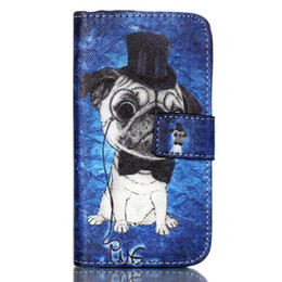 $enCountryForm.capitalKeyWord UK - Lovely Cute Cartoon Animal Owl Elephant Pug Flower Wallet Cover for Wiko Sunset 2 with Card Holder and TV Function Phone Case