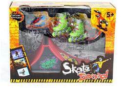 $enCountryForm.capitalKeyWord Australia - Fingerboard finger skateboard skate skating shoes pulley originality novel intellectual toy Tech Skateboard Stunt Ramp Deck toys