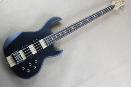 $enCountryForm.capitalKeyWord Canada - Top Quality 2015 New Arrival One Piece Maple Neck through the White Ash Body Matte Black 9V Active Bass 4 String Electric Bass Guitar