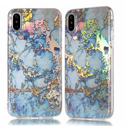 $enCountryForm.capitalKeyWord UK - Laser Marble Design Cover Case Sparking Shiny Bling Felxible Soft TPU case for iphone X 8G 7G PLUS 6 6S 5S Samsung S8 PLUS S7 EDGE