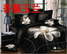 $enCountryForm.capitalKeyWord Canada - 2015 TOP sale 4pcs Queen Size Pure cotton reactive print 3d bedding sets Beautiful flowers print free shipping