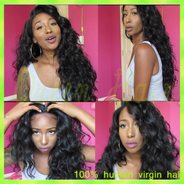 ombre kinky straight wig Canada - 2015 sale 7a brazilian full lace human hair wigs 100% human hair kinky curly full lace wig for American women kinky curly wigs