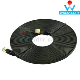 $enCountryForm.capitalKeyWord Canada - Hot Sale CAT7 Gold Plated Shielded Full Copper LAN Network Cable Length 10m Flat Computer Cable
