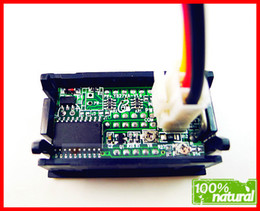 Car Voltmeter Ammeter NZ - Wholesale-YB27VA DC 4.5-30V   10A 12V,24V car Volt Amp Meter Digital Amperemeter Voltmeter Ammeter DC Voltage Panel Red LED