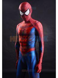 Опт 2015 Человек-Паук костюм 3D печати спандекс Fullbody Человек-Паук супергерой костюм для Хэллоуина косплей горячей продажи Зентаи костюм Бесплатная доставка