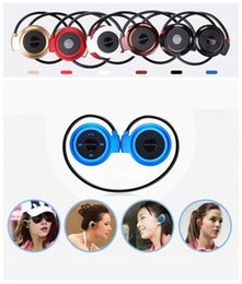5s Color Headphones Canada - Mini 503 Wireless Bluetooth Stereo Headphone Handsfree Sports Music in-ear Earphone Headset for Iphone 6 5S Ipad Samsung S4 S5 HTC LG US04