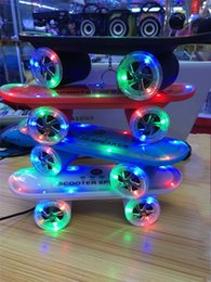 $enCountryForm.capitalKeyWord Canada - 2015 New arrival Skateboard Bluetooth Wireless Speaker Mobile Audio Mini Portable Speakers with Led Light Free Shipping DHL
