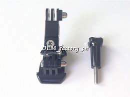 Wholesale Hot Sale Gopro Quick Release Buckle Basic Mount Tripod Mount Buckle with Three way Adjustable Pivot Arm Screw for Gopro Hero