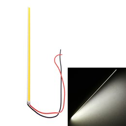 China Ultra-thin White 5W LED COB 84 Chip Led Driving DRL Daytime Running Light Lamp Bar Strip Auto Car lighting Aluminum 12V DIY Lamp suppliers