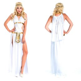 Robe De Cosplay D'egypte Pas Cher-2018 New Adultes Egypte Costume Femmes Lady Queen Cosplay Costumes Halloween Carnaval Party Déguisements Décoration