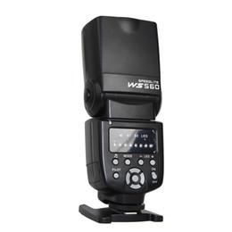 Venta al por mayor de NUEVO WANSEN WS-560I Flash Speedlite para Nikon D3100 D5100 D7000 D7100 Canon 450D 500D 550D 600D 650D 60D 70D como Yongnuo 560
