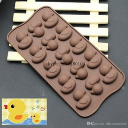 $enCountryForm.capitalKeyWord Canada - 15 cute duck silicone ice cube tray mold DIY chocolate mold biscuit candy molds SICM-215-19