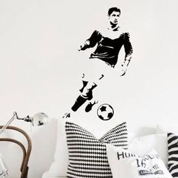$enCountryForm.capitalKeyWord Canada - Art Wall Sticker home decoration football player Ronaldo wall sticker removable vinyl house decor soccer cristiano decals in bedroom