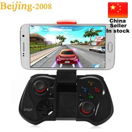 Playstation Wireless Controller Canada - 2016 Newest iPega PG-9033 Wireless Controller Bluetooth Gaming Controle Gamepad Android Joystick for iPhone Android iOS PC TV 010209