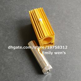 1pc 12x45mm 5.6mm carcasa / caja del diodo láser + 1pc 12mm enfriamiento disipador de calor / titular en venta