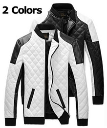 Vestes Simples Pour Homme Pas Cher-Manteaux de; manteau d'hiver vestes pour hommes les hommes de # 039; veste simple couleur de Hit pu veste en cuir veste de moto hommes minces de # 039; 2015 nouvelle mode de printemps Men # 039