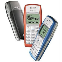 cell phones accessories 2019 - Original NOKIA 1100 Mobile phone GSM Dual band Classic refurbished Cheap Cell phone 1 year warranty
