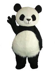 Venta al por mayor nueva versión chino gigante Panda traje de la mascota traje de la mascota de Navidad envío gratis