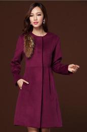Korean Fashion Purple Women Winter Coat Online   Korean Fashion ...