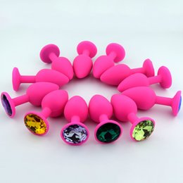 Wholesale gays for men for sale – custom 100pcs Silicone Anal Plug Jewelry Adult Men Gay Adult Sex Toys For Women Couple Butt Beads Sex Product