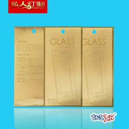 Mobile Phone Paper Box Package Canada - 500pcs Wholesale Custom Retail Universal Package Packaging paper Box For Mobile Phone Film Iphone Samsung Screen Protector